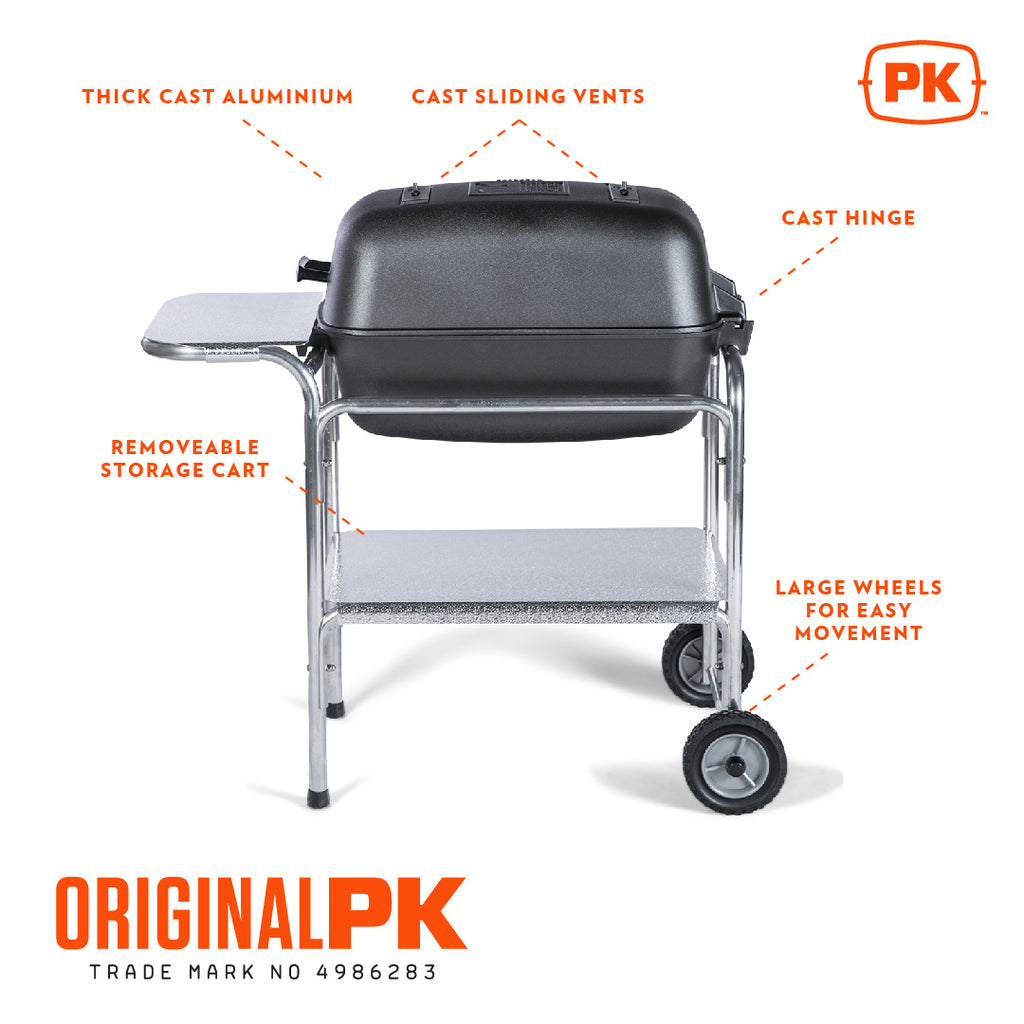 The Original - PK Grill and Smoker Graphite
