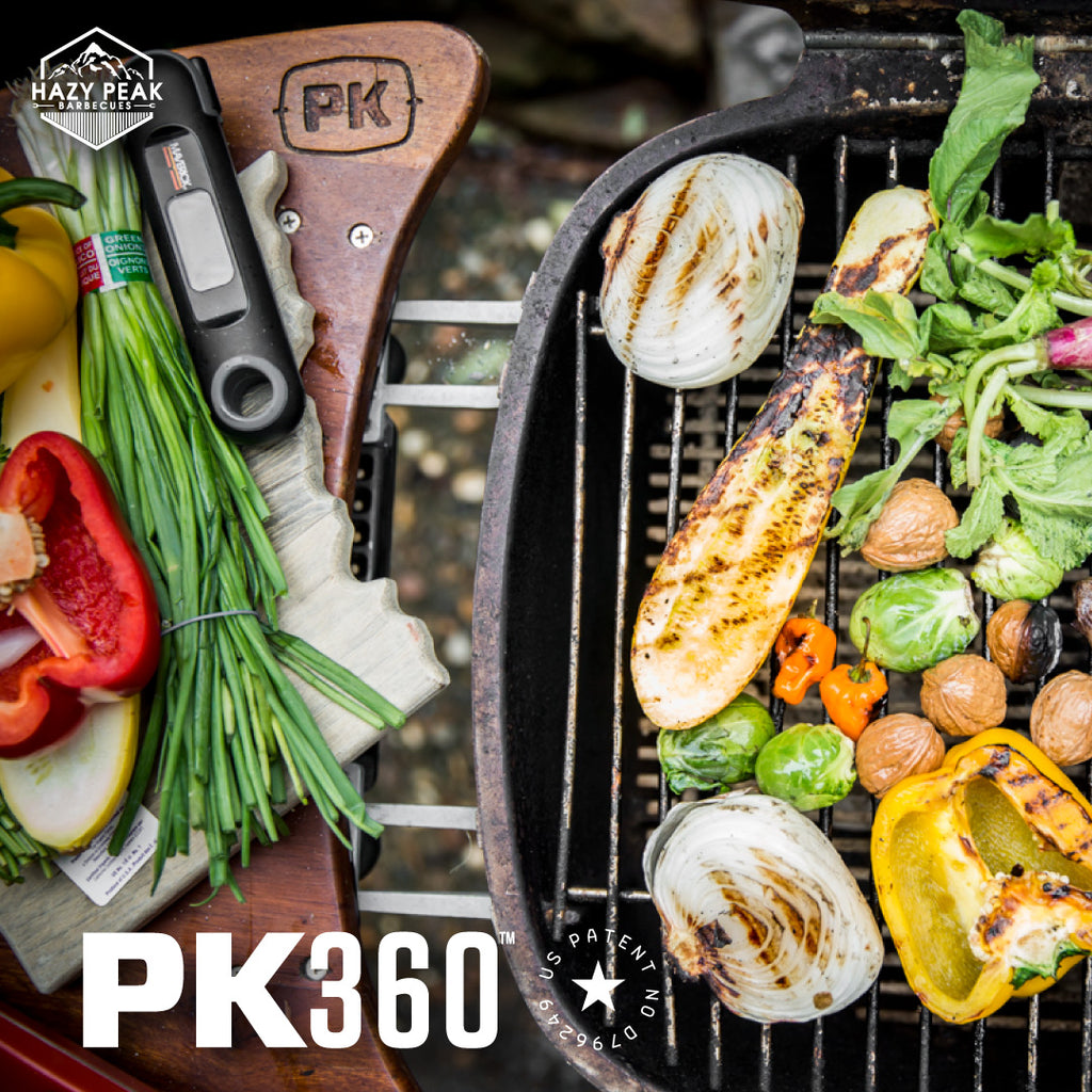 Picture of delicious grilled food cooking on the PK360 Grill