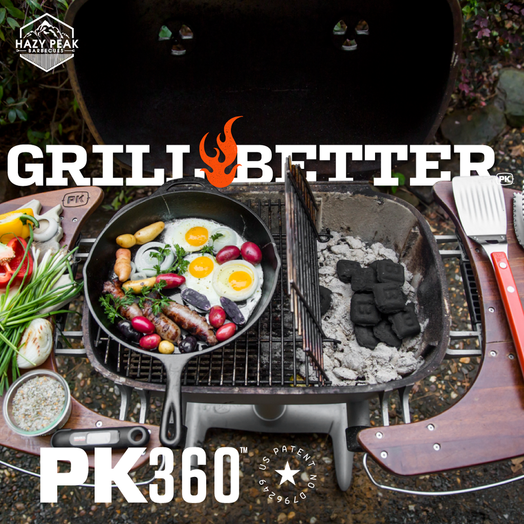 Picture of PK360 Grill with caption Grill Better