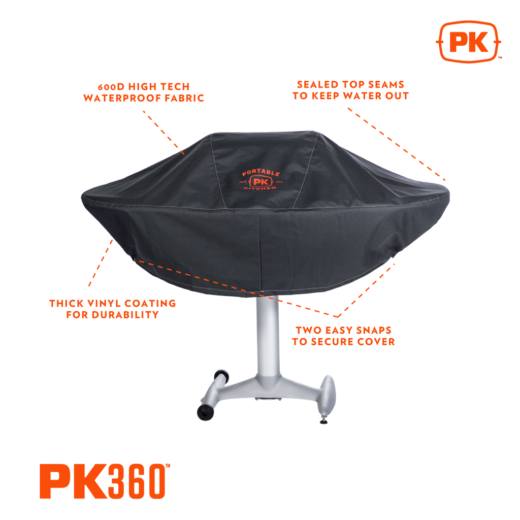 PK360 Grill Cover - Standard in Charcoal Colour