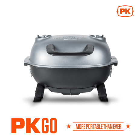 Forward facing image of PK Go Portable Grill and Smoker