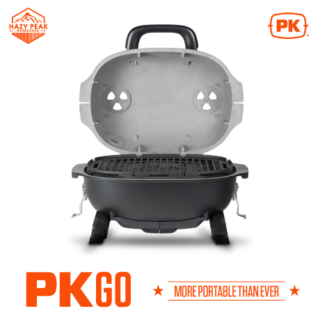 Image of PK GO will lid open Portable Grill and Smoker