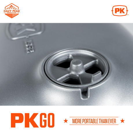 Detail image of PKGO Portable Grill and Smoker