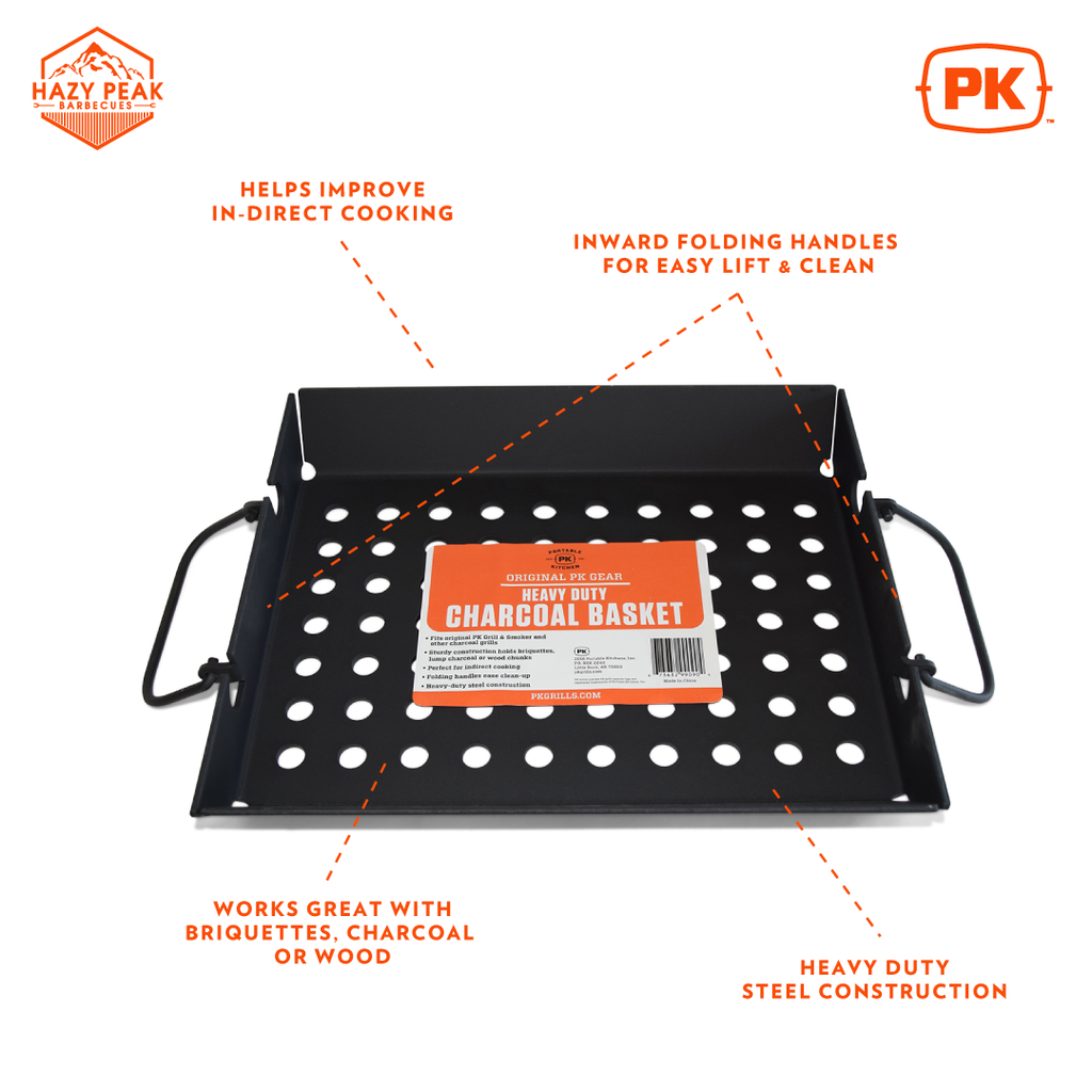 PK  Heavy Duty Charcoal Basket
