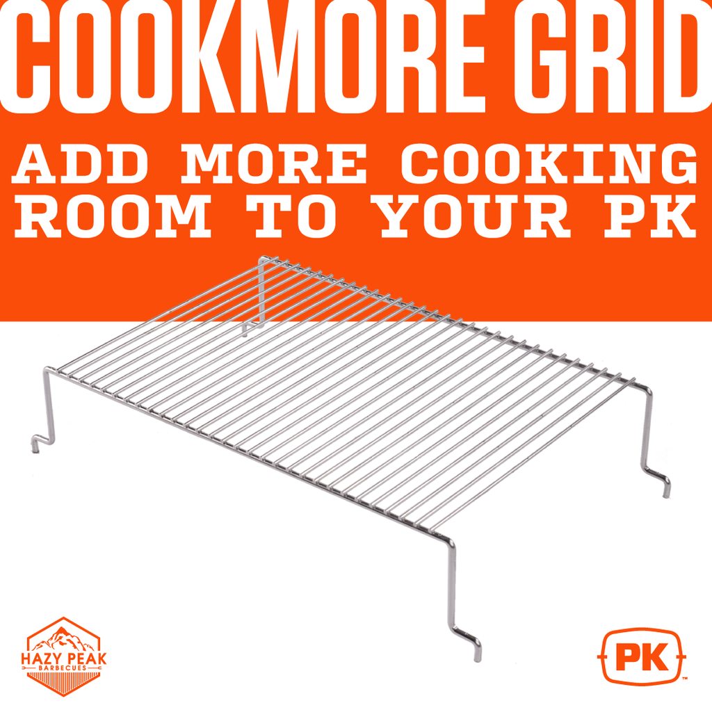Cookmore Grid - Add more cooking room to your PK
