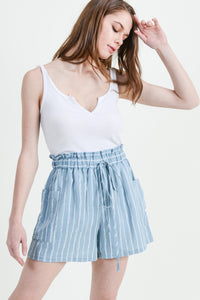 Aubree Striped Shorts