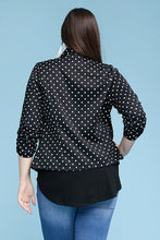 Load image into Gallery viewer, Polka Dot Blazer Jacket