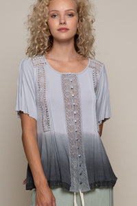 Ombre Washed Top