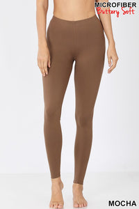 PREMIUM MICROFIBER FULL LENGTH LEGGINGS