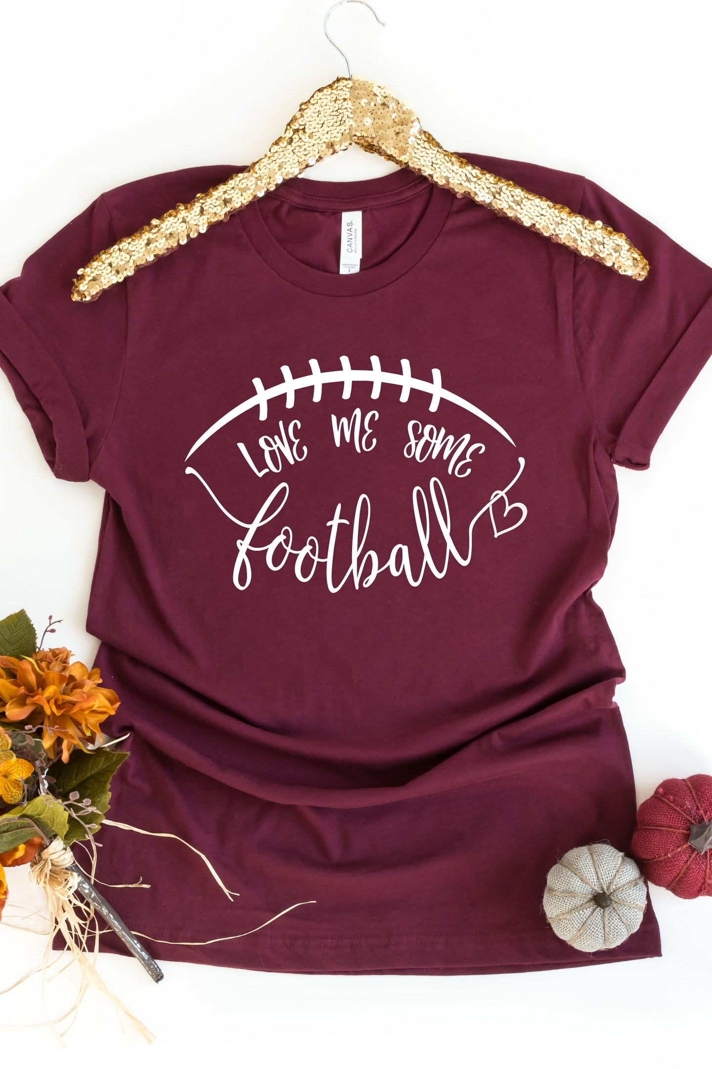 Love Me Some Football Graphic Tee