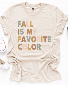 Fall Is My Favorite Color tee
