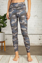 Load image into Gallery viewer, Camo Print Full Length Yoga Pant