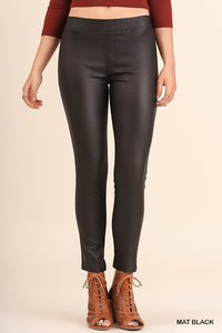 Metallic Slim Straight Jeggings