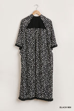 Load image into Gallery viewer, Dalmatian Print Open Front Long Kimono