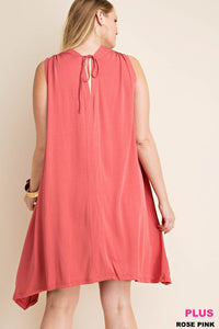 Drop Shoulder Jersey Dress
