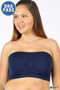 Seamless Built In Bra Bandeau