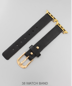 38MM BUCKLE CLOSURE WATCH BAND