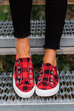 Load image into Gallery viewer, Buffalo Plaid Sneakers