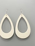 Load image into Gallery viewer, Cut Out T Drop Earrings