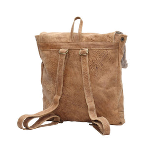 ALL LEATHER BACKPACK BAG