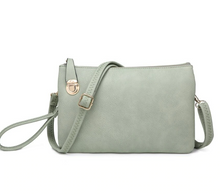 Load image into Gallery viewer, SARAH WRISTLET/CROSSBODY-TEAL