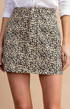 Load image into Gallery viewer, Leopard Print Skirt