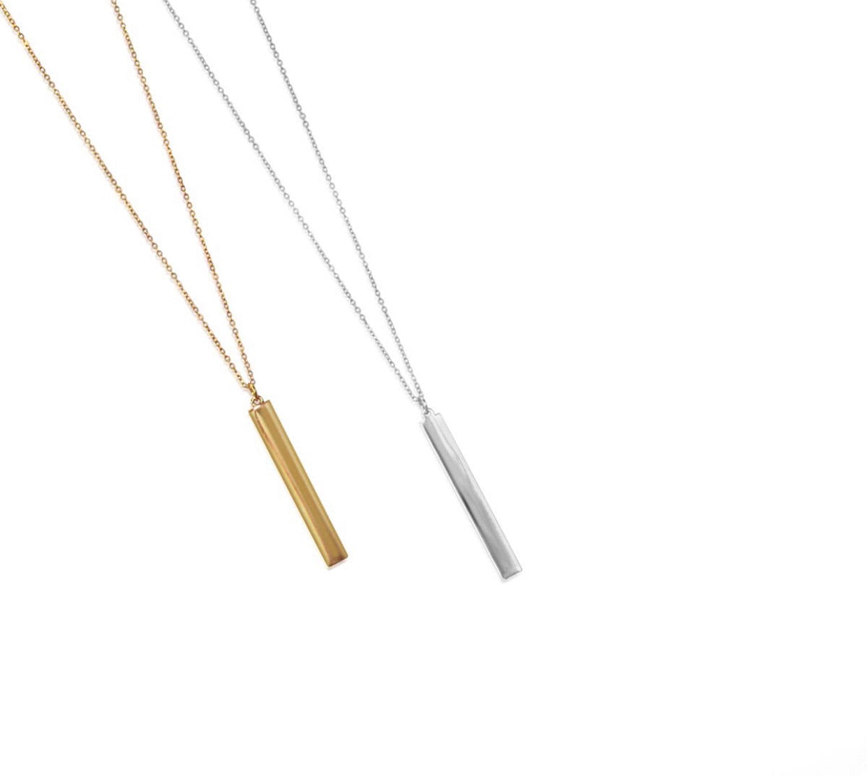 Simply Minimalist Bar Necklace