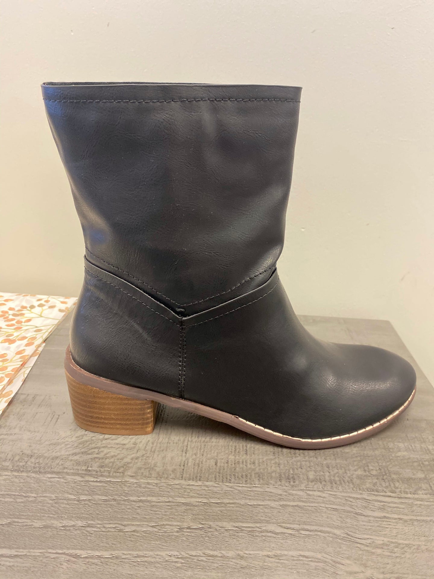 Athena Black Boot