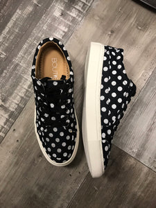 Puzzle Black Polka Dot Shoe