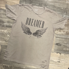 Load image into Gallery viewer, Dreamer Distressed Tee