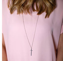 Load image into Gallery viewer, Simple Cross Necklace
