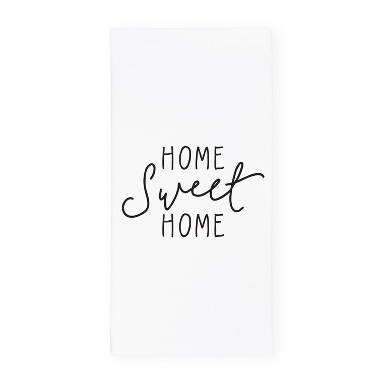 Home Sweet Home Towel and Dish Cloth