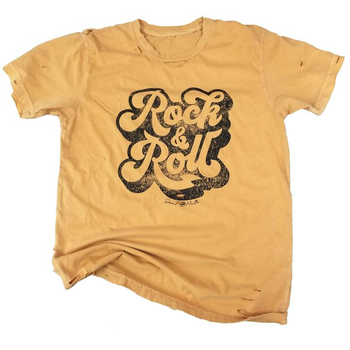 ROCK & ROLL DESTROYED TEE