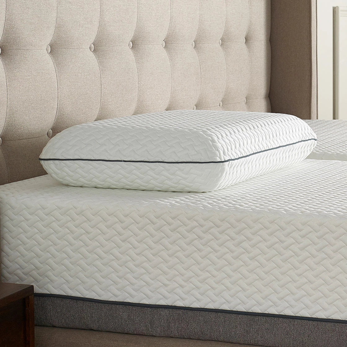 Cloud Pillow on Adjustable Bed and Mattress
