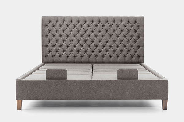 Flyte Super King Dual Adjustable Bed with Diamond Headboard