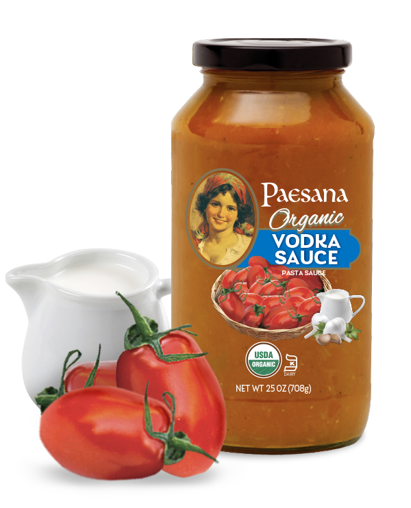 Organic Vodka Sauce 25 Oz