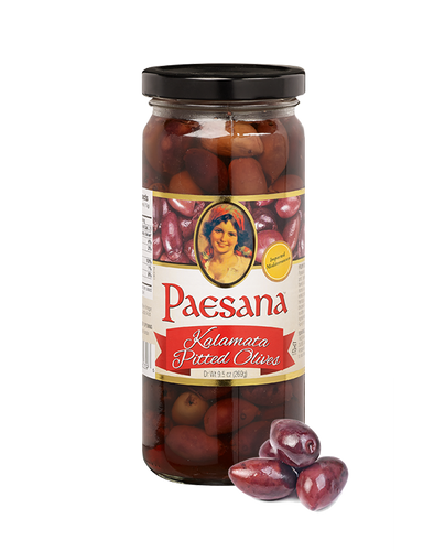 Kalamata Pitted Olives 10 Oz