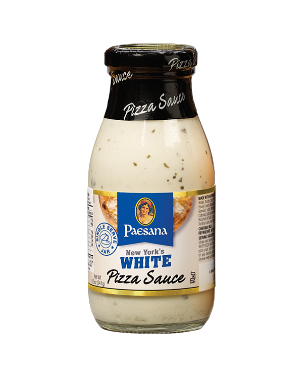 New York's White Pizza Sauce 8.5oz Jars