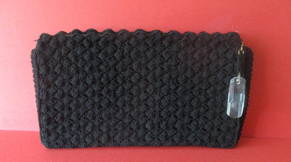 Vintage Hand-Crocheted Handbag/Clutch