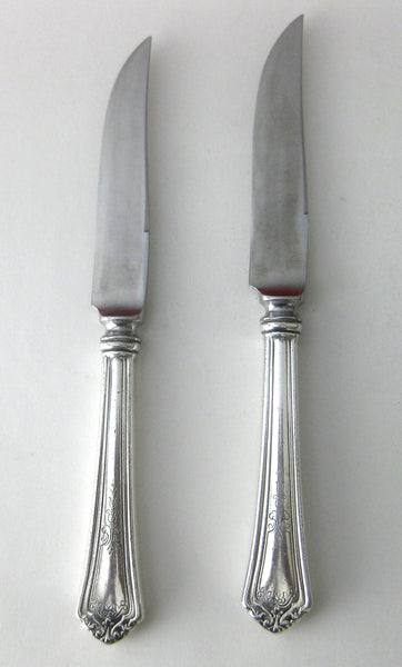 Pair of Sterling Silver Fruit Knives from Reed & Barton
