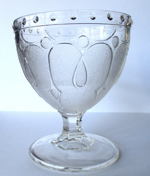 Antique Victorian Glass Spooner Goblet