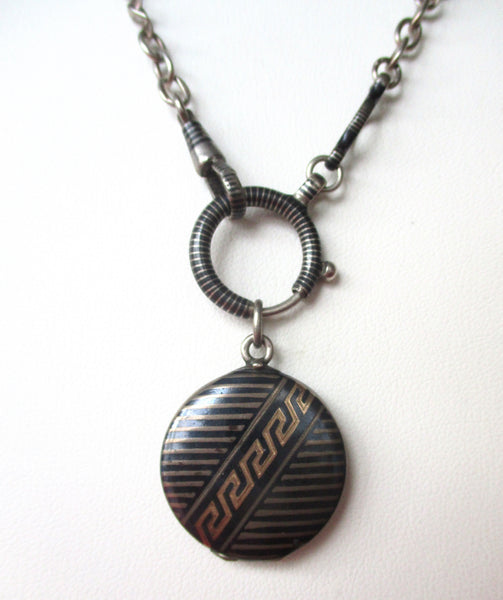 Pair of Deco-Inspired 3 3/4-Inch  Earrings With Swarovski Crystals