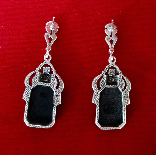 Pair of Georgian Paste Earrings