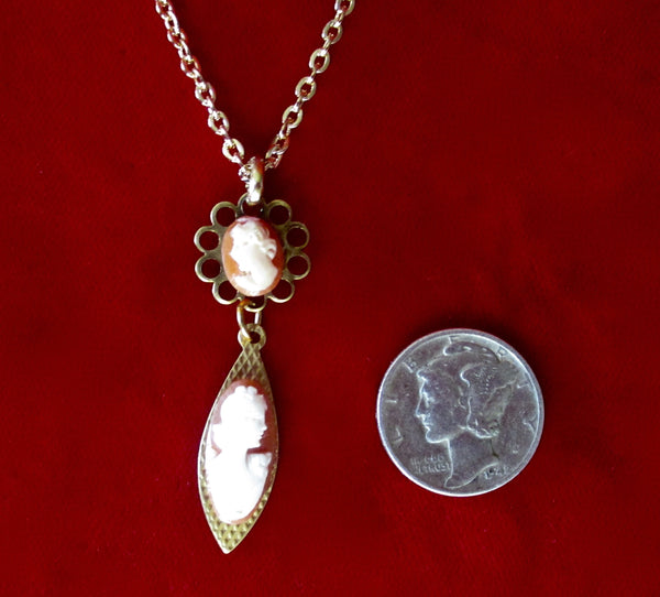 Pair of Vintage Sterling Silver Earrings With  French Jet &  Clear Faceted Crystal Rondelles