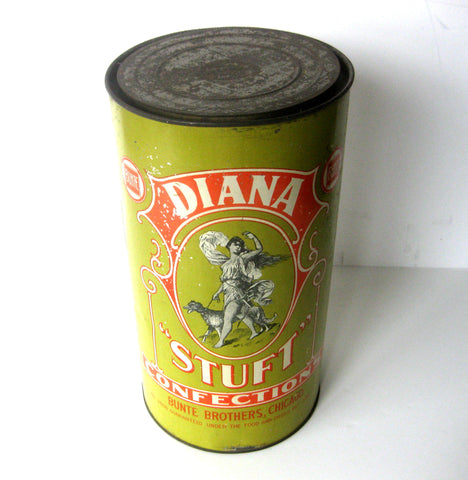 Antique Candy Tin