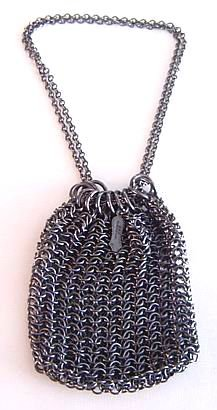 Antique Gunmetal Purse