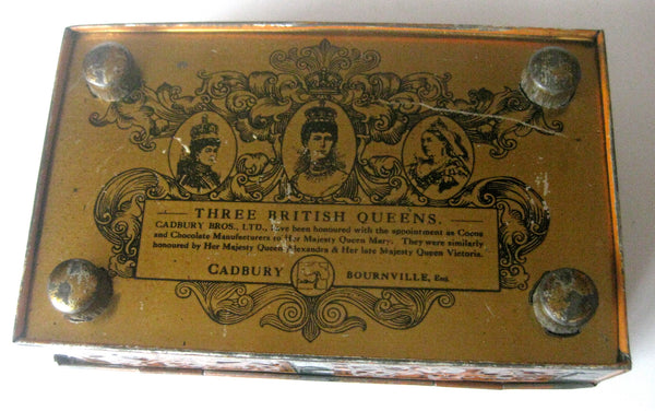 Antique Footed  Tin by Cadbury Chocolates