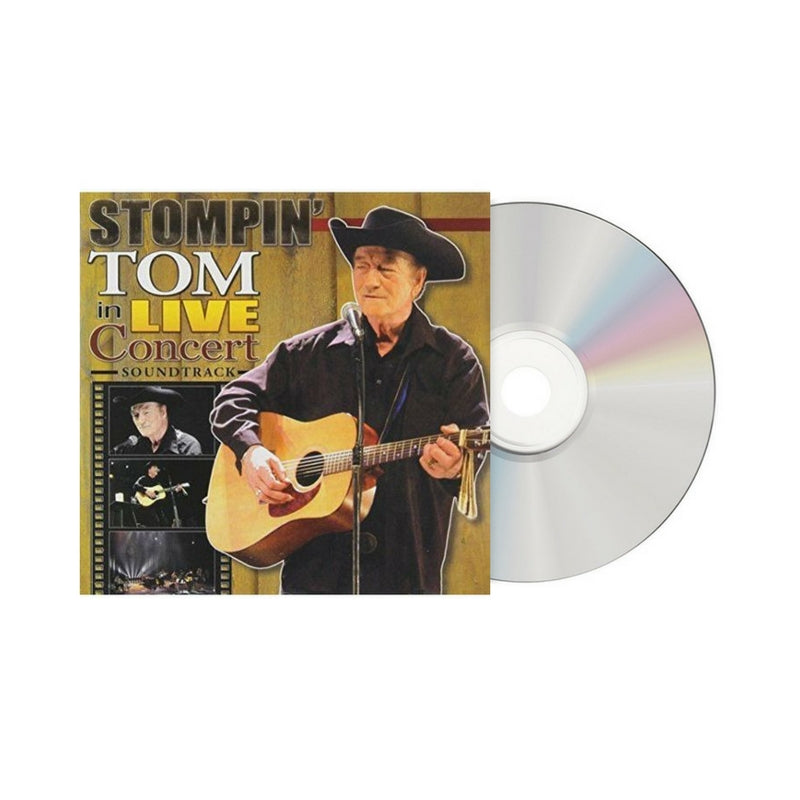 Stompin' Tom In Live Concert - CD