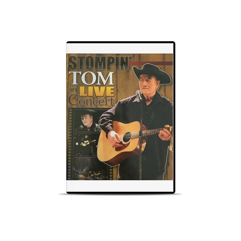 Stompin' Tom In Live Concert - DVD