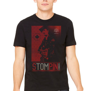 Stompin' Tom Black Tee